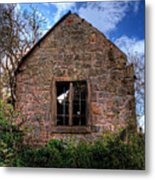 Haunted House Hdr Metal Print
