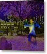 Haunted Night Metal Print