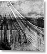 Haunted Piano Metal Print