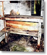 Hauntingly Desolate Turpentine Gone Metal Print