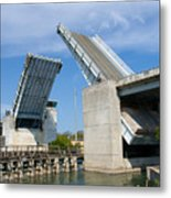 Hauover Canal In Florida Metal Print