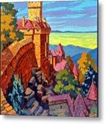 Haut Koenigsburg Castle, Alsace, France Metal Print