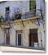 Havana City Apartments  Metal Print