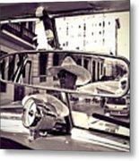 Havana Cuba Taxi Metal Print