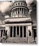 Havana El Capitolio Metal Print