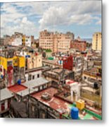 Havana From Above Metal Print