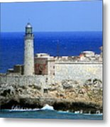 Havana Harbor Lighthouse Metal Print