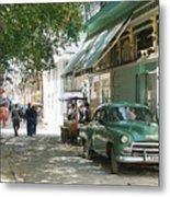 Havana Streets 1 Metal Print