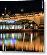 Havasu At Night Metal Print