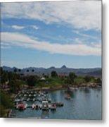 Havasu City Az Waterfront Metal Print