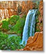 Havasu Falls Canyon Metal Print