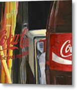 Have A Coke... Metal Print