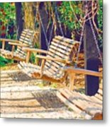 Have A Seat Relax Metal Print