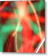 Have Yourself An Abstract Little Christmas Metal Print
