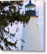 Havre De Grace Lighthouse Metal Print