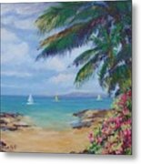 Hawaii Calling Metal Print