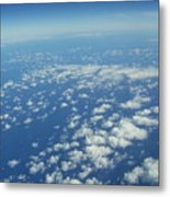 Hawai'i Clouds Metal Print