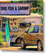 Hawaii Food Truck Metal Print