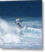 Hawaii Pipeline Surfer Metal Print