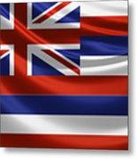 Hawaii State Flag Metal Print
