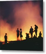Hawaii Volcanoes National Park Metal Print