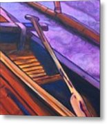 Hawaiian Canoe Metal Print