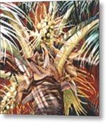 Hawaiian Fireworks Metal Print
