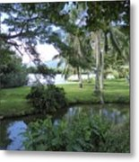 Hawaiian Lagoon Metal Print