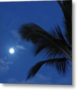 Hawaiian Moon Metal Print