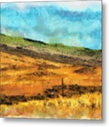 Hawaiian Pasture Metal Print