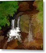 Hawaiian Stream Metal Print