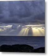 Hawaiian Sunrise Metal Print by Mike Herdering
