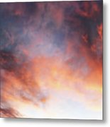 Hawaiian Sunset Clouds Metal Print