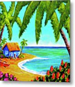 Hawaiian Tropical Beach  #364 Metal Print
