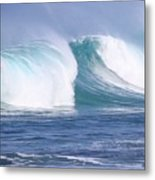 Hawaiian Winter Waves Metal Print