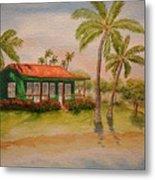 Hawaiin Cottage Metal Print