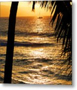 Hawaiin Sunset Metal Print