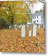 Hawke Meetinghouse - Danville New Hampshire Metal Print