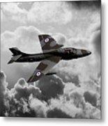 Hawker Hunter Metal Print