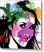 Hayden Panettiere Pop Art Metal Print