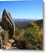 Hazel Mountain Overlook On Skyline Drive In Shenandoah National Park Metal Print