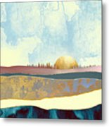 Hazy Afternoon Metal Print
