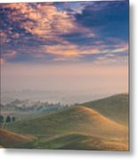 Hazy Sunrise Metal Print by Marc Crumpler