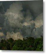 Hdr Clouds Metal Print