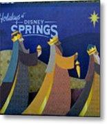 Three Wise Men Disney Springs Metal Print