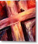 He Died For Me Metal Print