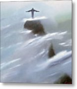 He Watches Over Us Metal Print