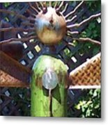 Head For Detail Metal Print