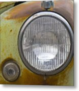 Head Light Metal Print