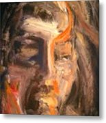 Head Of A Man Metal Print